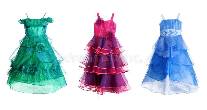 collageklänning festliga tre royaltyfri foto