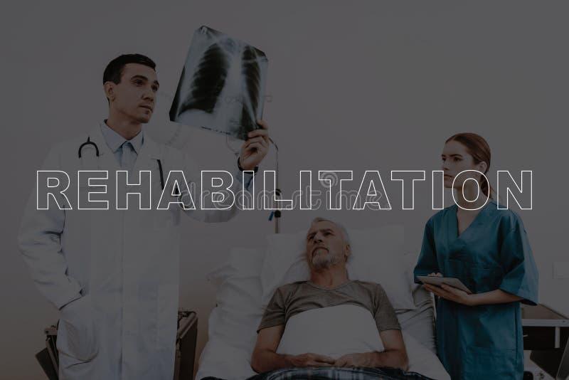 Collagen-Rehabilitations-geduldiger Brustradiographie-Scan stockbilder
