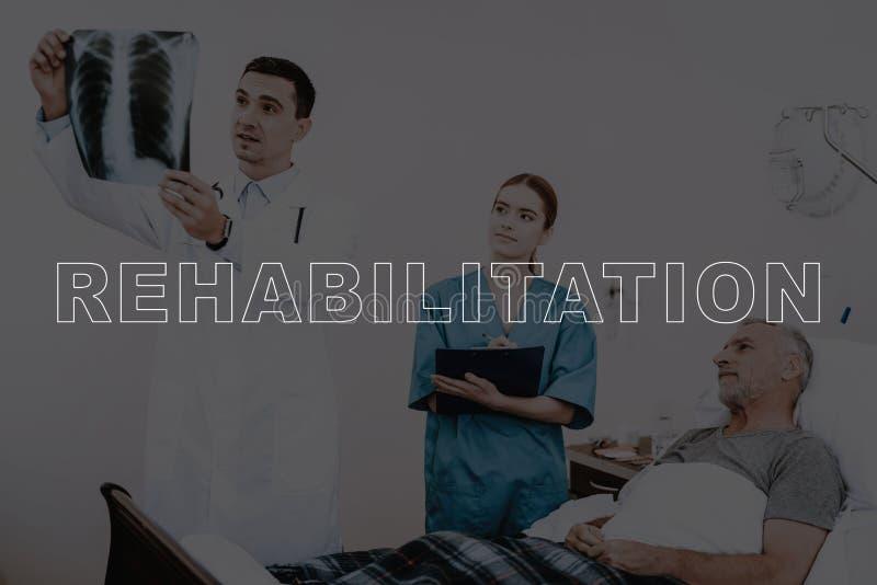 Collagen-Rehabilitations-geduldiger Brustradiographie-Scan lizenzfreie stockfotografie