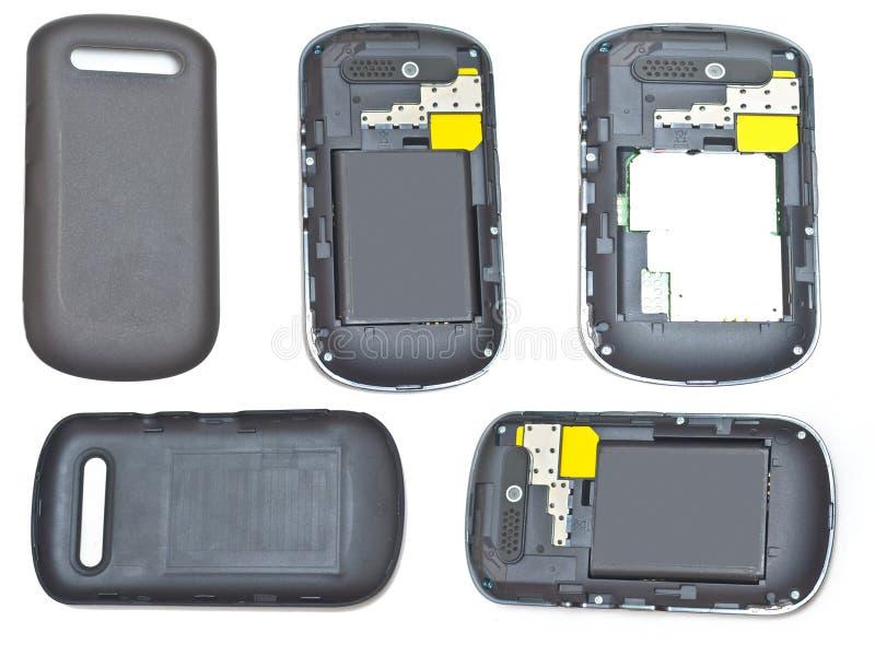 Collages de téléphone portable photographie stock