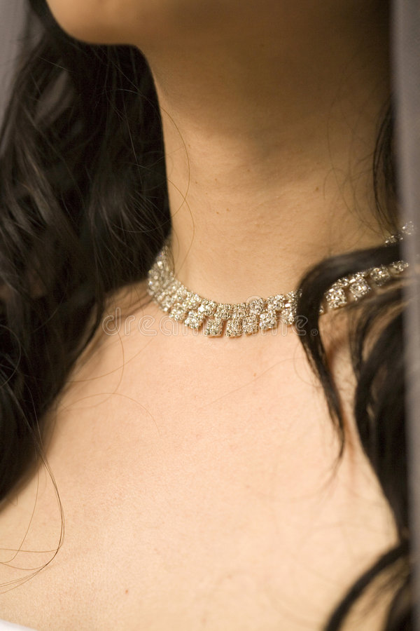 Download Collana della sposa immagine stock. Immagine di bellezza - 3146597