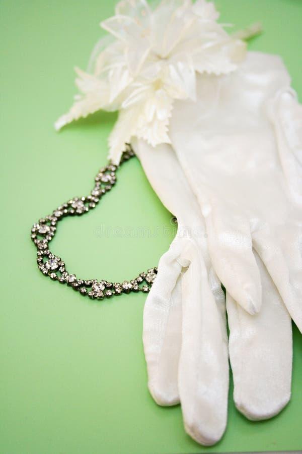 Collana di cerimonia nuziale fotografia stock