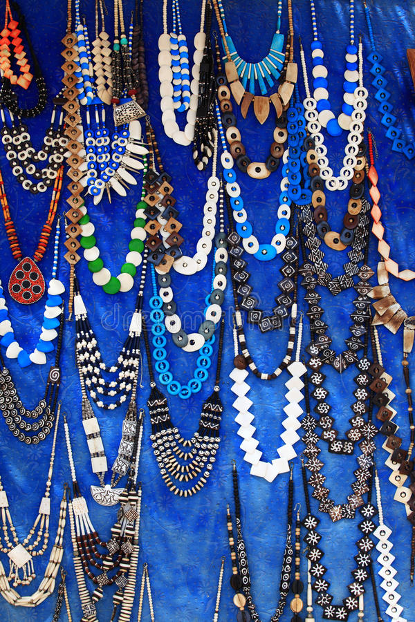 Collane egiziane fotografie stock