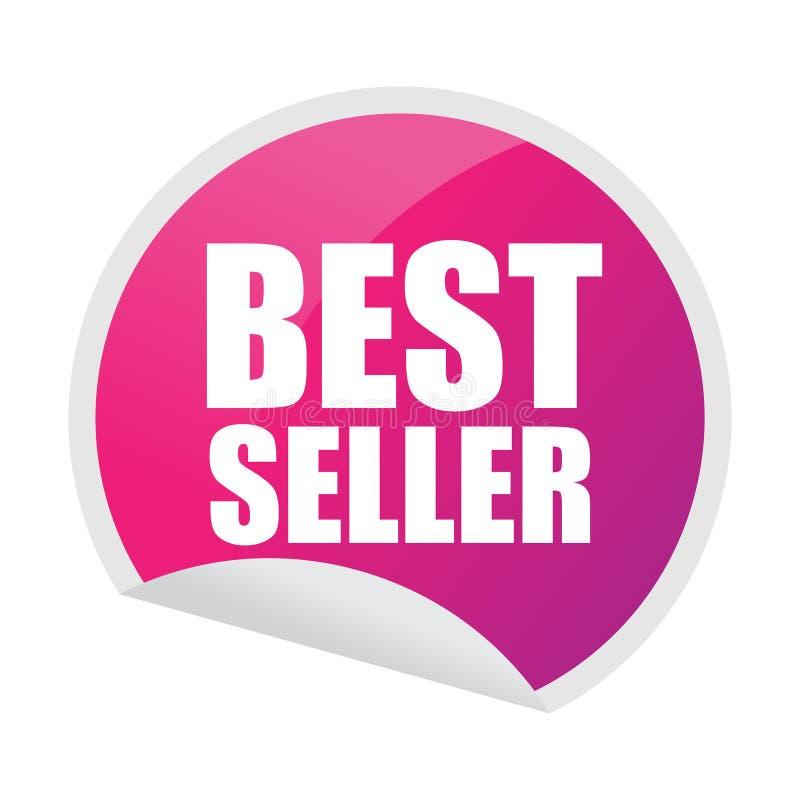 Collant de best-seller illustration de vecteur