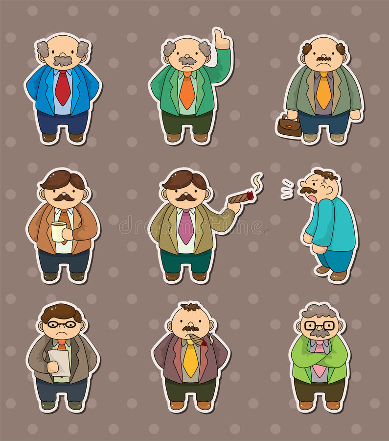 Collants de bossage illustration stock