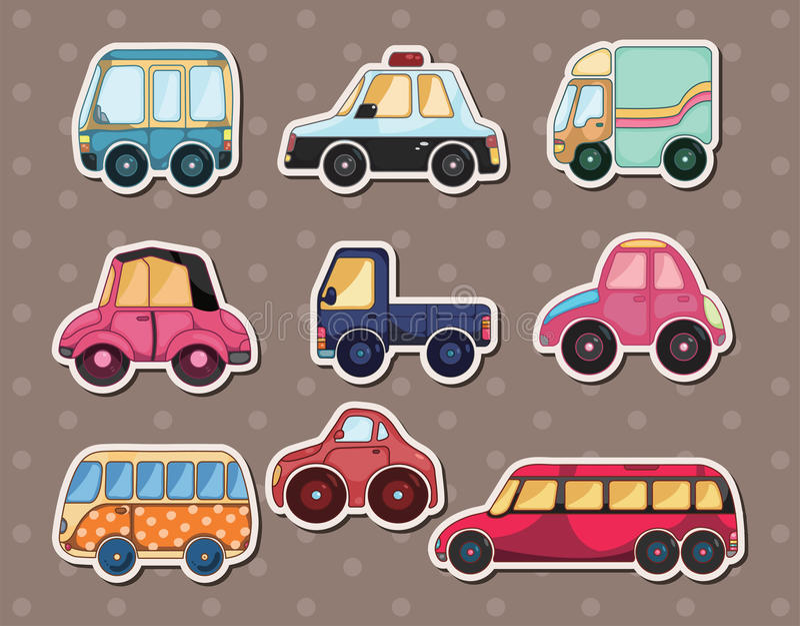 Collants de véhicule illustration de vecteur