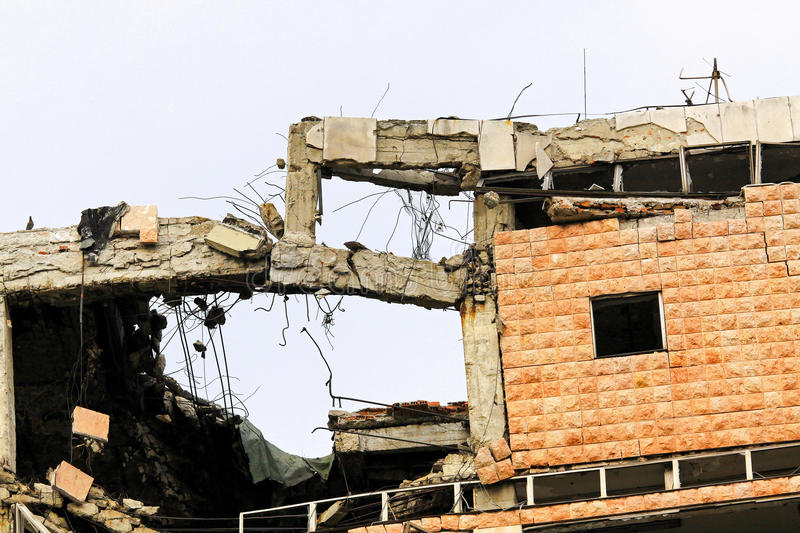 Download Collapsed Building Stock Photos - Image: 18724563