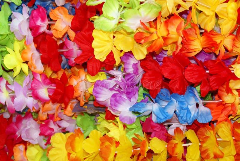 Collares de la flor imágenes de archivo libres de regalías