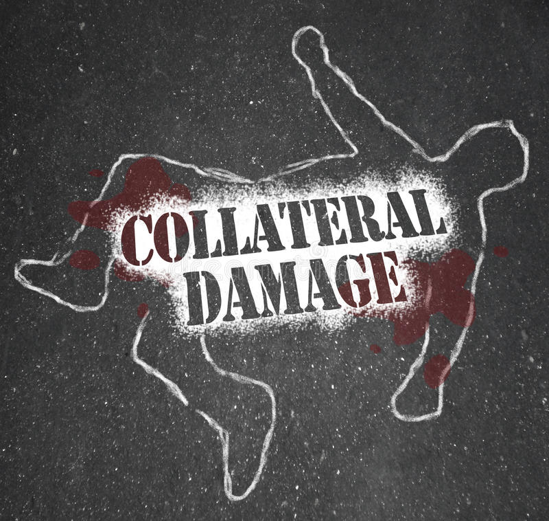 Download Collateral Damage Unintentional Injury Casualty Of War Battle Stock Illustration - Image: 31864126
