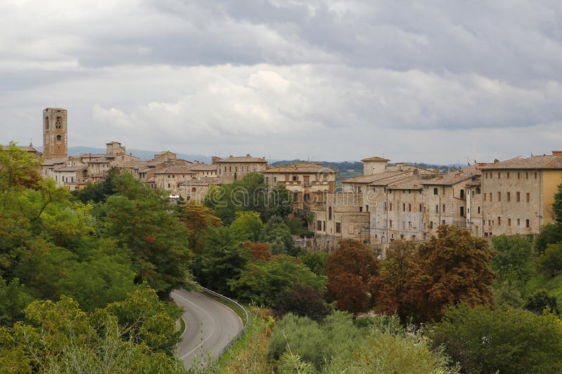 Colle di val d'Elsa, Italy. Colle di val d'Elsa, a beautiful medieval village in the Tuscany, Italy royalty free stock photography