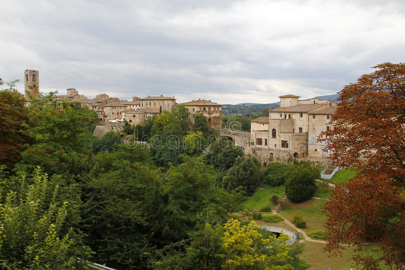 Colle di val d'Elsa, Italy. Colle di val d'Elsa, a beautiful medieval village in the Tuscany, Italy stock images