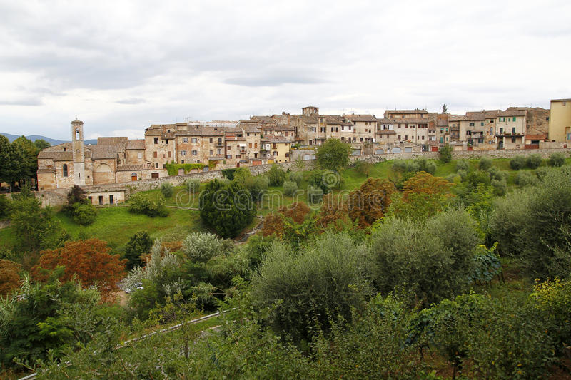 Colle di val d'Elsa, Italy. Colle di val d'Elsa, a beautiful medieval village in the Tuscany, Italy royalty free stock photo