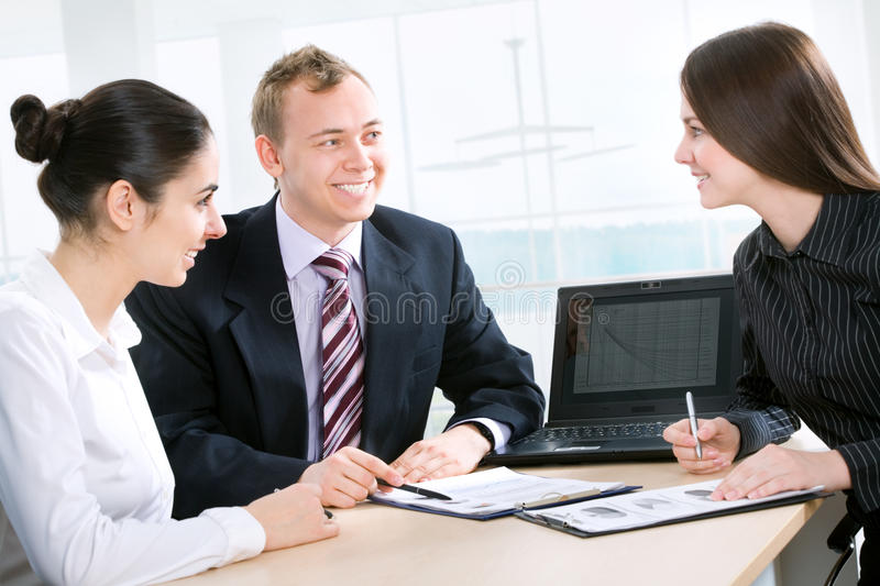Colleagues Royalty Free Stock Photography
