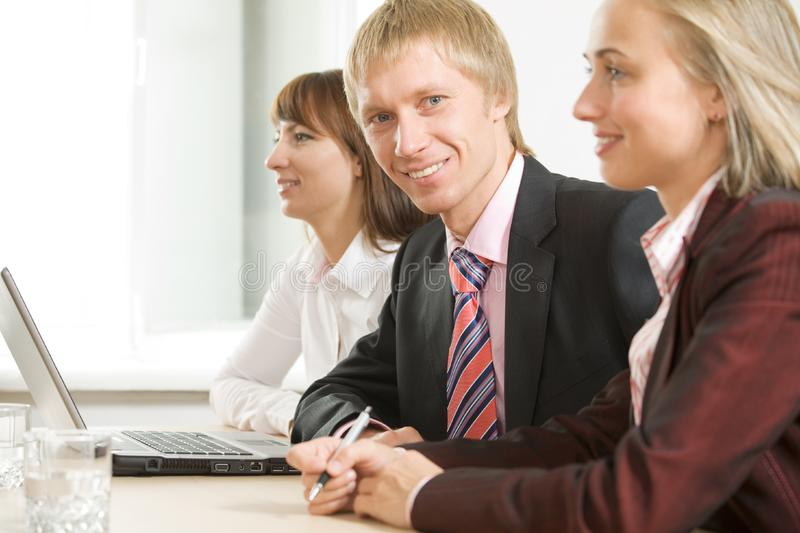 Colleagues stock photo