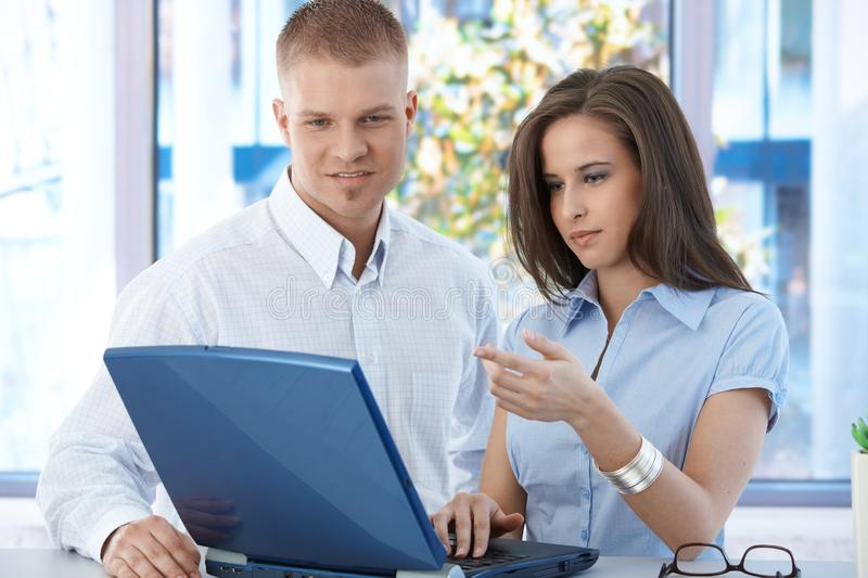Download Colleagues At Work Stock Photo - Image: 20531610