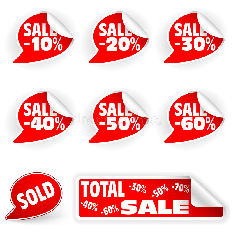 Download Collect Sticker stock vector. Illustration of cheap, price - 19004170