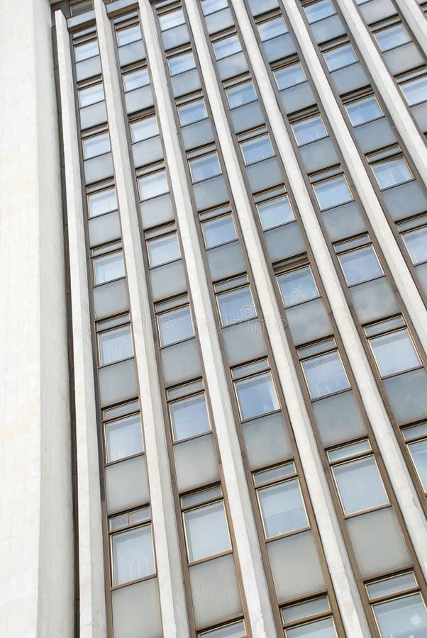 Collecte abstraite de gratte-ciel de bureau photos libres de droits
