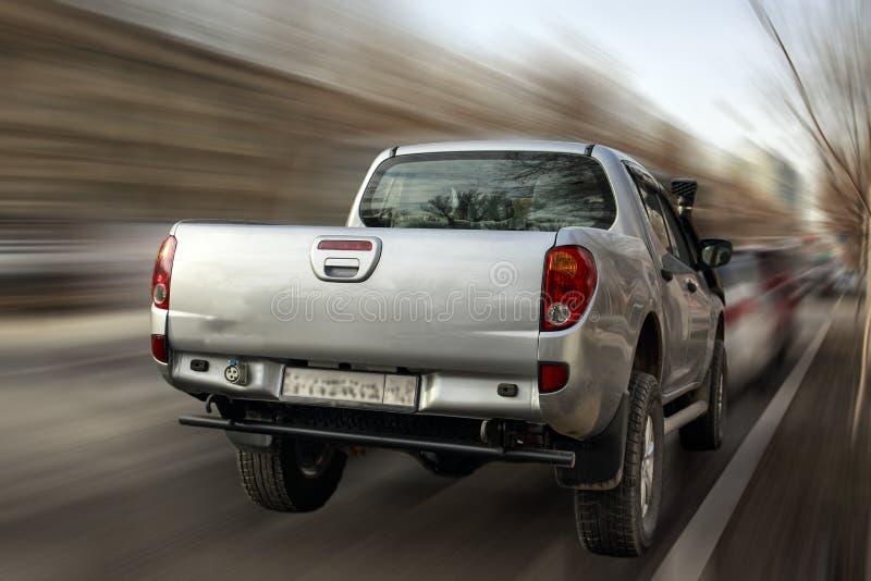 Collecte argentée de Mitsubishi images stock