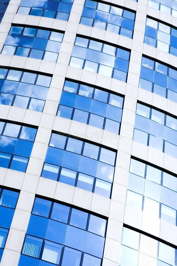 Collecte diagonale abstraite de gratte-ciel image libre de droits