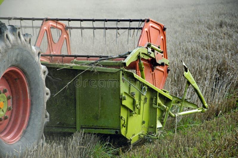 Collectes de récolte mécanisée image stock