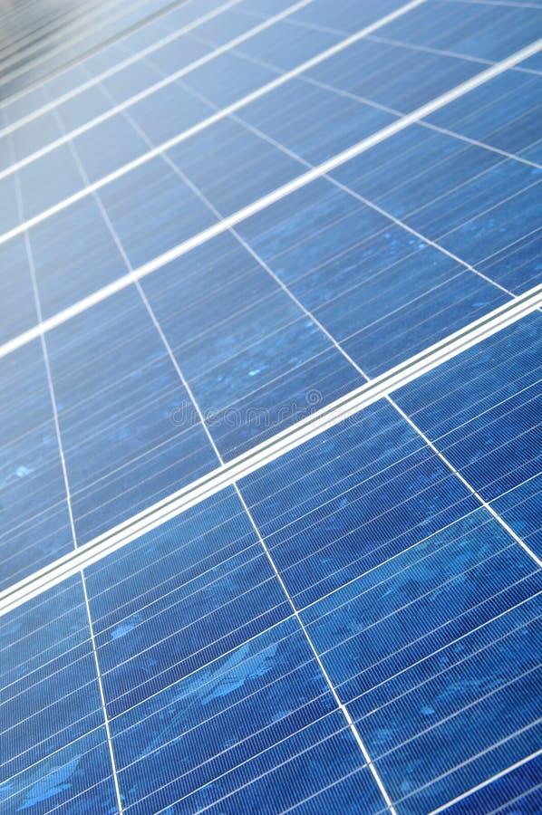Collecteur neuf de panneau solaire photo libre de droits