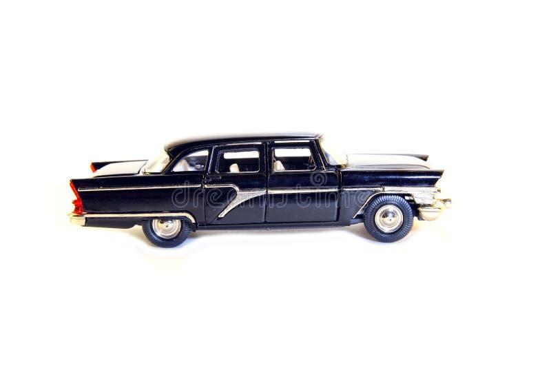 Collectible bil för leksakmodellsvart arkivfoton