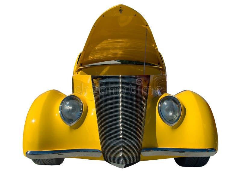 Download Yellow classic car stock image. Image of motor, retro - 7284919
