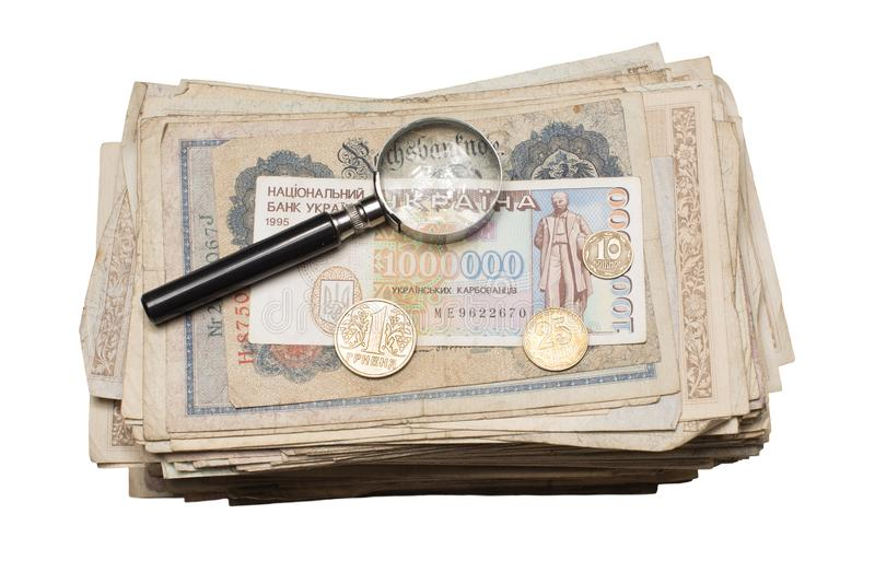 Collectibles чеканит награды банкнот стоковые изображения rf