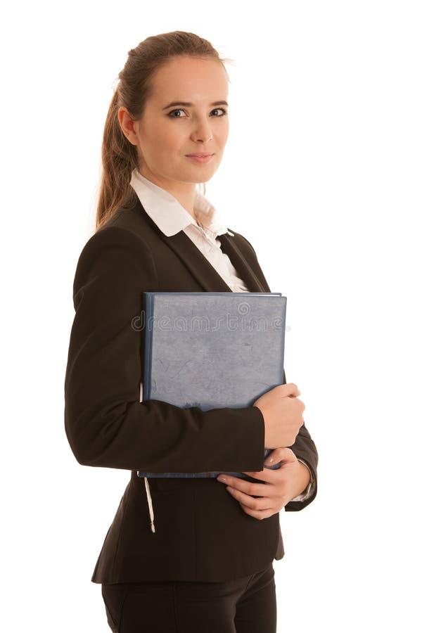 Download Collectief Portret Van Een Preety Bedrijfsvrouw Met Blauwe Omslag I Stock Afbeelding - Afbeelding bestaande uit wijfje, zaken: 107709045