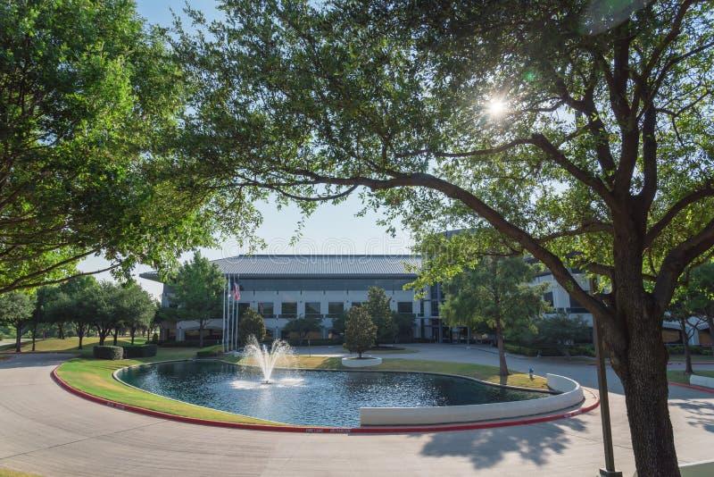 Collectieve hoofdkwartiercampus van Keurig Dr. Pepper in Plano, Texa royalty-vrije stock foto
