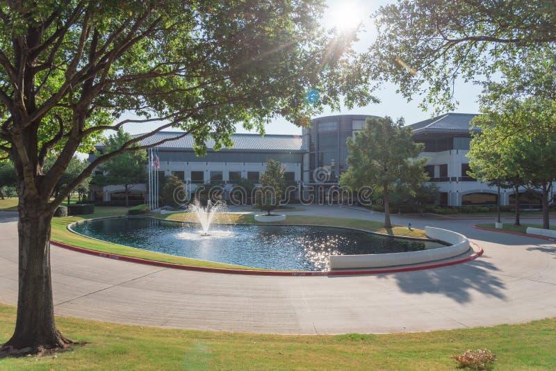 Collectieve hoofdkwartiercampus van Keurig Dr. Pepper in Plano, Texa royalty-vrije stock afbeelding