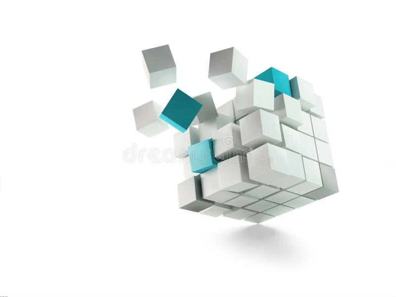 Collectieve organisatie vector illustratie