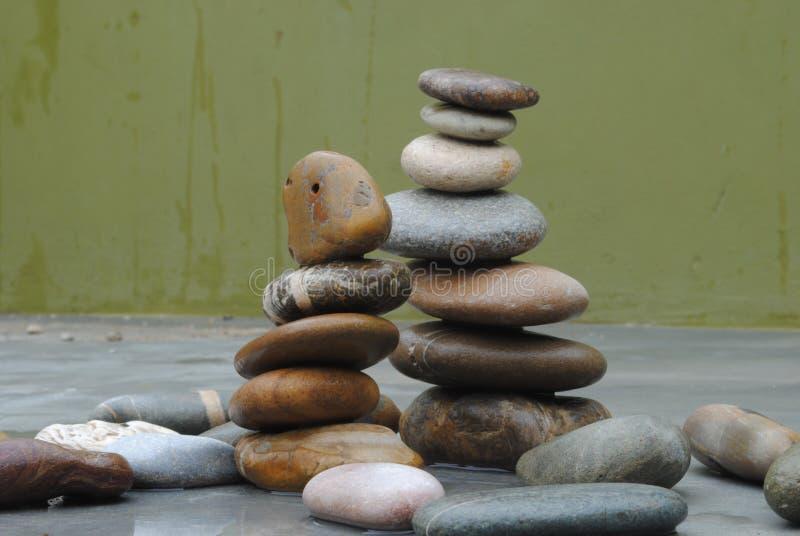 Collectieve Zen royalty-vrije stock fotografie