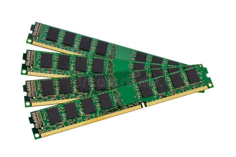 Collection électronique - modu de mémoire à accès sélectif d'ordinateur (RAM) images libres de droits