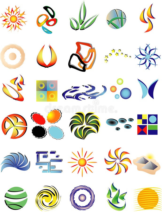 Download Collection stock vector. Image of graphic, clip, star - 6637333