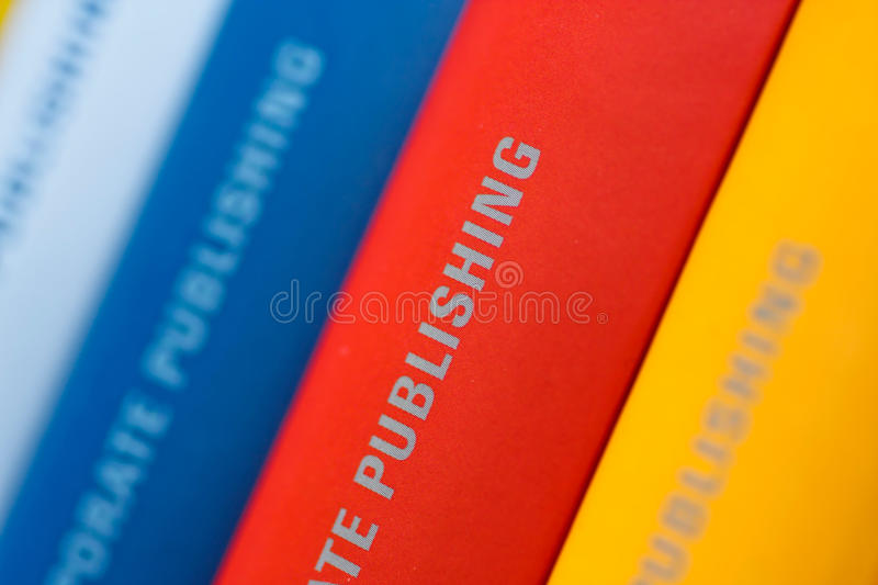 Download Collection Of Annual Reports Stock Photo - Image: 22885362