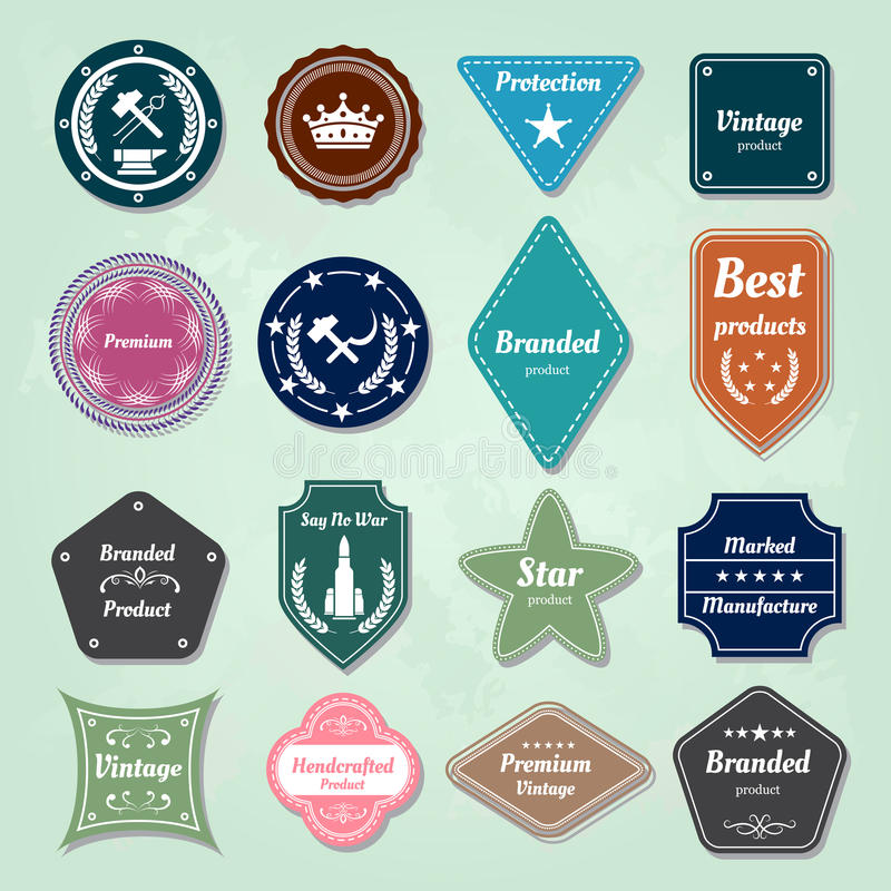 Download Collection Of  Badges And Labels Logo Stock Illustration - Illustration of label, badge: 28708065