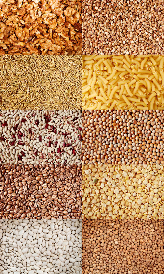 Download Collection Of Beans And Seeds Royalty Free Stock Image - Image: 23572046