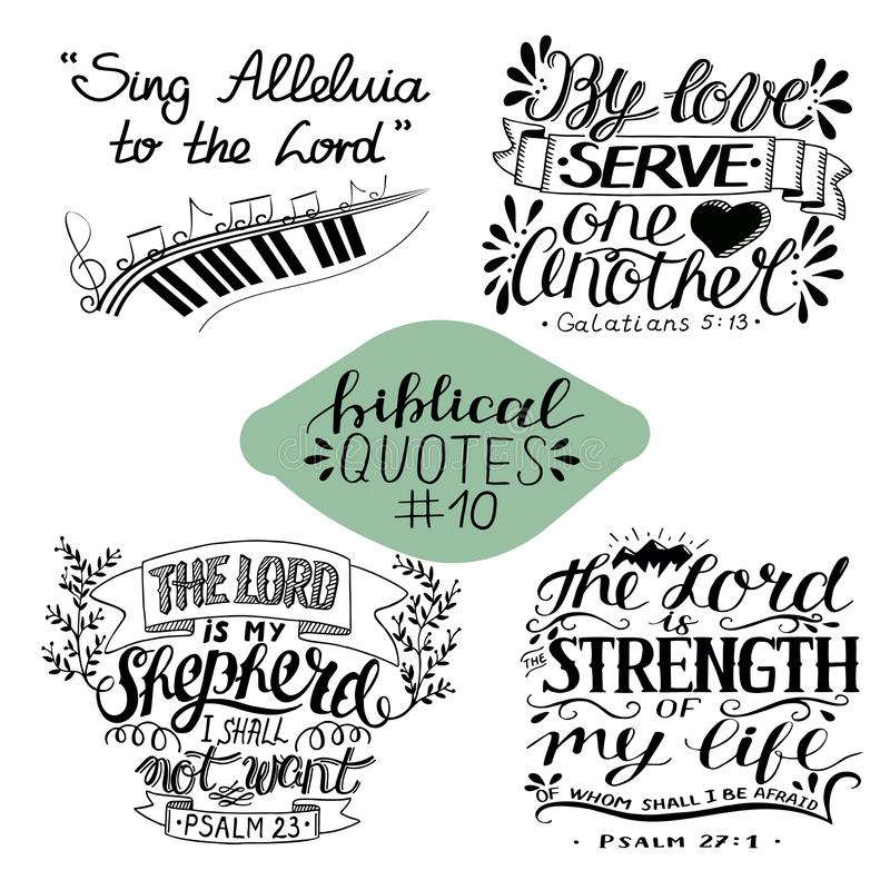 Collection 4 With 4 Bible Verses  Me And My House We Will Serve The