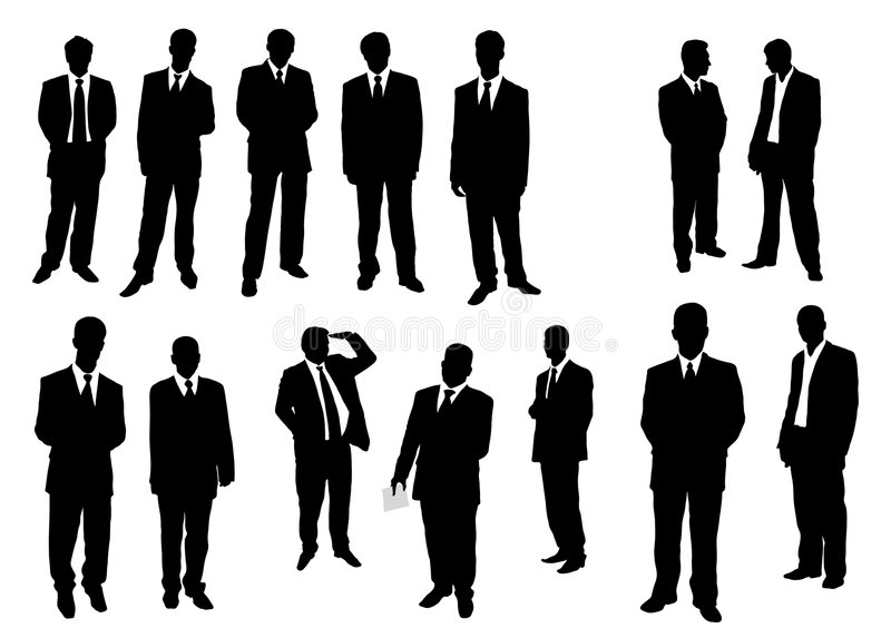 Download Collection of businessman stock vector. Image of crowd - 5585440