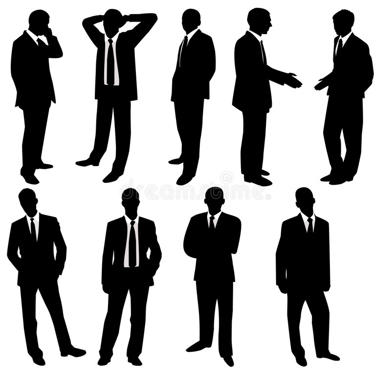 Download Collection of businessmen stock vector. Illustration of image - 6911538