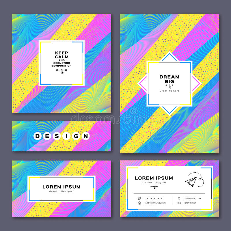 Collection Cards: Invitation, A4 Poster, Business Card, Flyer ...