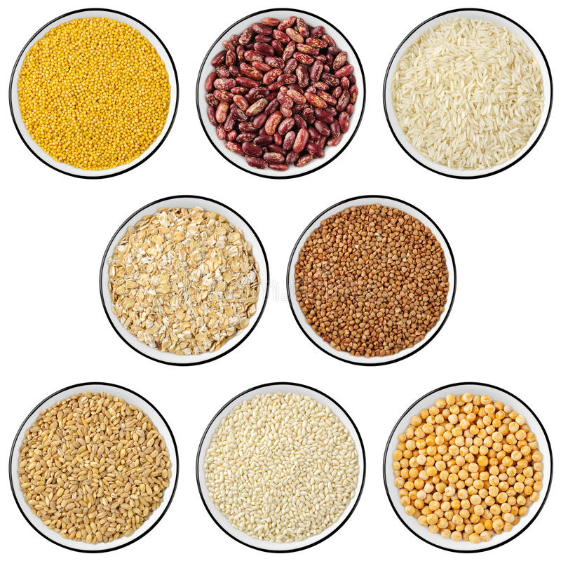 Download Collection Of Cereals And Legumes Stock Image - Image: 13160215