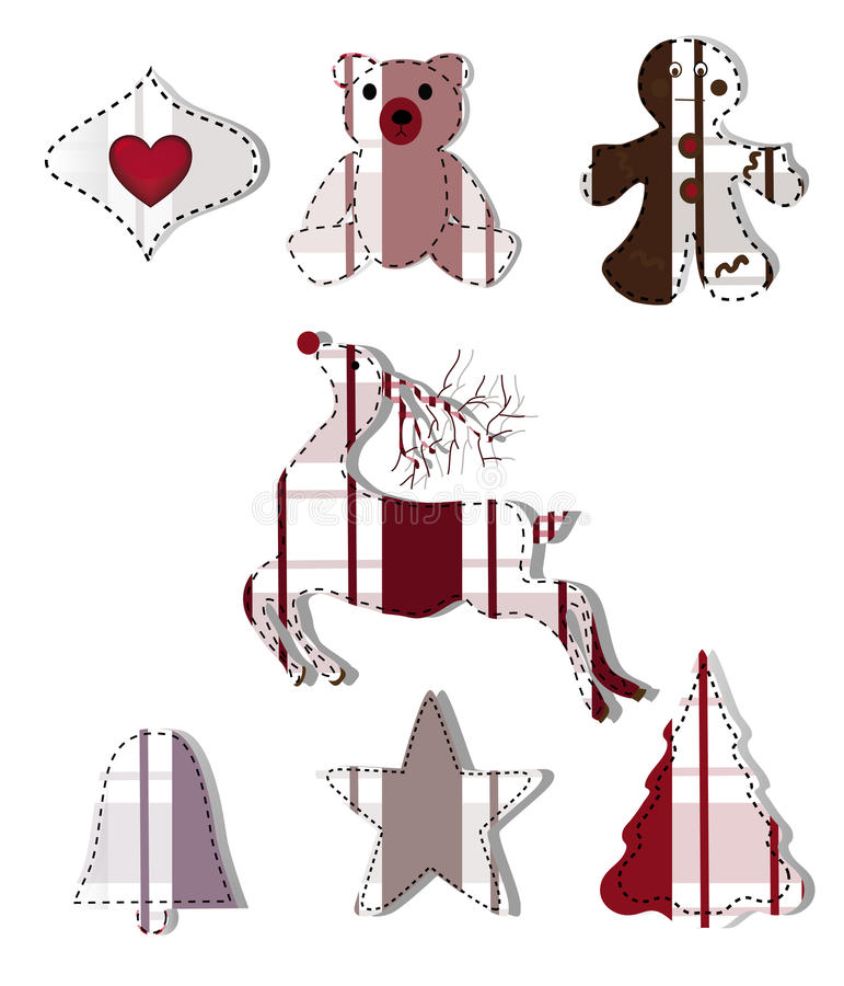 Download Collection Of Christmas Elements Stock Vector - Image: 22387386