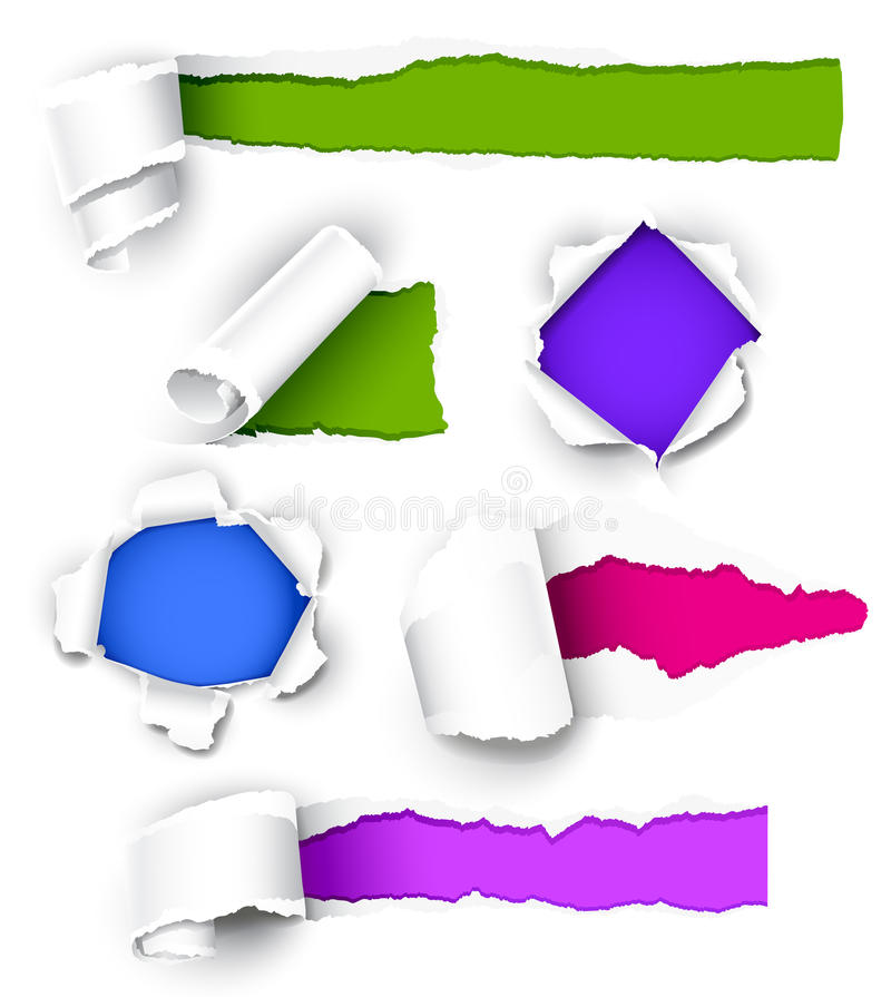 Download Collection Of Colored Paper. Royalty Free Stock Photos - Image: 19166238