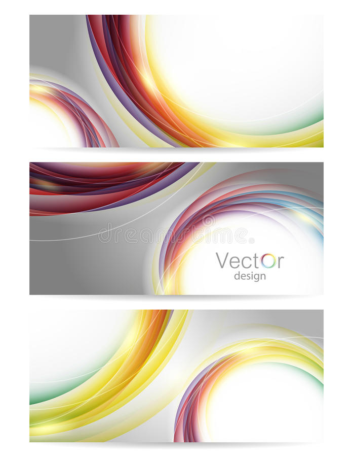 Download Collection Of Colorful Vector Backgrounds Stock Vector - Image: 32836246