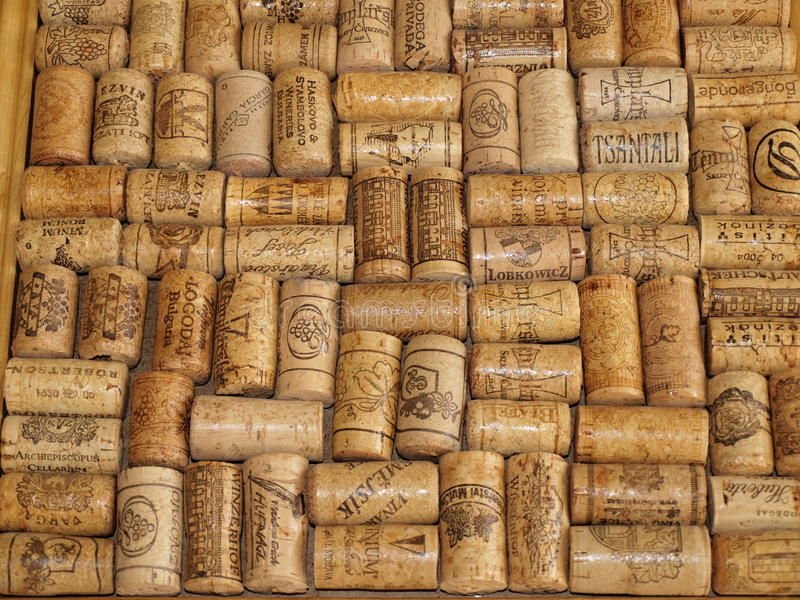 Download A Collection Of Corks From Wine Bottles Editorial Photo - Image: 36768911