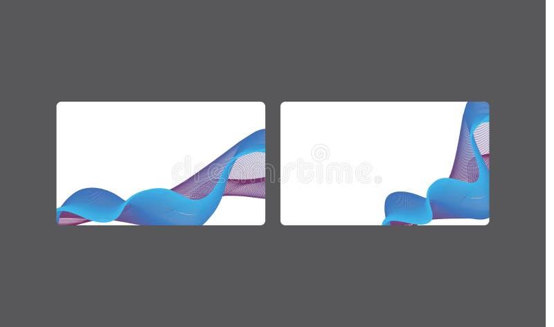 Collection cr?ative de calibres de cartes de visite professionnelle de visite de soci?t? avec le logo illustration de vecteur