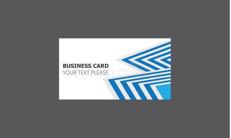 Collection cr?ative de calibres de cartes de visite professionnelle de visite de soci?t? avec le logo illustration libre de droits