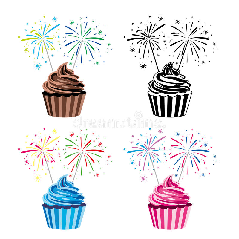 Download Vector Collection Of Cupcakes Royalty Free Stock Photography - Image: 31632377